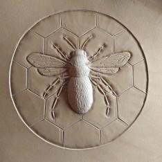 honingbij ongeverfd