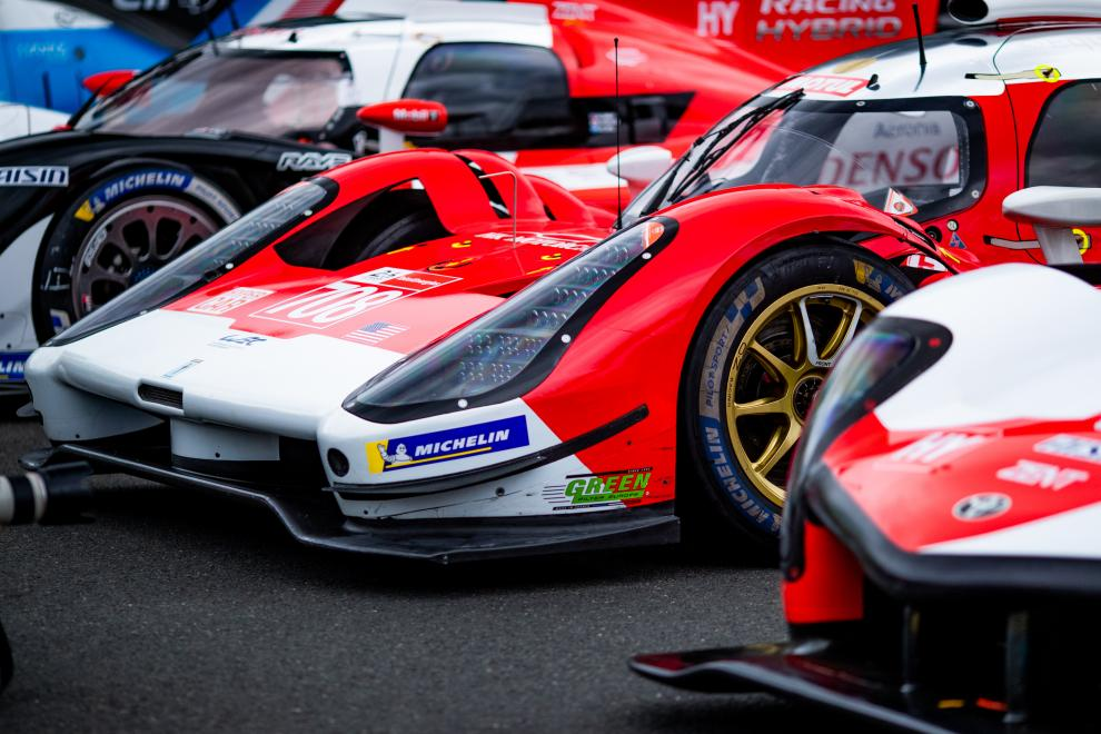 #708 GLICKENHAUS RACING / USA / Glickenhaus 007 LMH - 24h of Le Mans