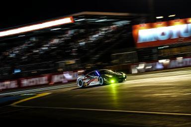 Car #61 / AF CORSE (ITA) / FERRARI 458 ITALIA / Peter Ashley MANN (USA) / Raffaele GIAMMARIA (ITA) / Matteo CRESSONI (ITA) - Le Mans 24 Hours at Circuit Des 24 Heures - Le Mans - France