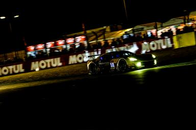 Car #50 / LARBRE COMPETITION (FRA) / CHEVROLET CORVETTE C7R / Gianluca RODA (ITA) / Paolo RUBERTI (ITA) / Kristian POULSEN (DNK) - Le Mans 24 Hours at Circuit Des 24 Heures - Le Mans - France