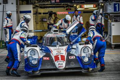 Car #1 / TOYOTA RACING (JPN) / Toyota TS040 - Hybrid / Anthony Davidson (GBR) / Sebastien Buemi (CHE) / Kazuki Nakajima (JPN) Free Practice 2 - 6 Hours of Fuji at Fuji International Speedway - Shizuoka - Japan