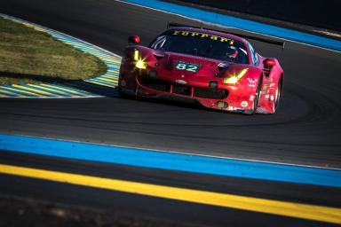 #82 RISI COMPETIZIONE (USA) / MICHELIN / FERRARI 488 GTE / Giancarlo FISICHELLA (ITA) / Toni VILANDER (FIN) / Matteo MALUCELLI (ITA)Le Mans 24 Hour - Circuit des 24H du Mans  - Le Mans - France
