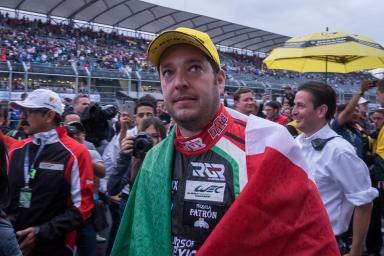 Ricardo Gonzalez at the end of the WEC 6 Hours of Mexico - Autodrome Hermanos Rodriguez - Mexico City - Mexique