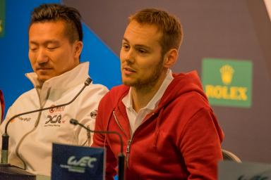 The Pre Event Press Conference during the WEC 6 Hours of Shanghai - Shanghai International Circuit - Shanghai - China