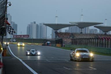 Checkered flag at the  WEC 6 Hours of Shanghai - Shanghai International Circuit - Shanghai - China