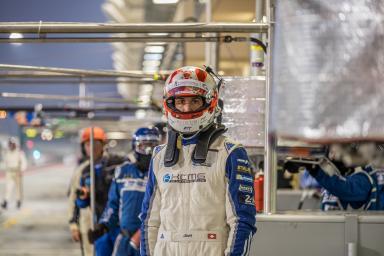 Joel Carmathias in the pit lane at the WEC 6 Hours of Bahrain - Bahrain International Circuit - Sakhir - Bahrain