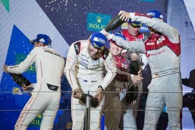 Podium at the WEC 6 Hours of Bahrain - Bahrain International Circuit - Sakhir - Bahrain