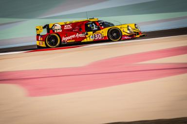 CAR #30 / EXTREME SPEED MOTORSPORTS / USA / Ligier JS P2 - Nissan / Tom Dillmann (FRA) / Giedo van der Garde (NED) / Sean Gelael (IDN) - WEC 6 Hours of Bahrain - Bahrain International Circuit - Sakhir - Bahrain