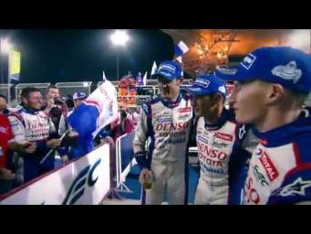 Tribute to Alex Wurz from the whole WEC paddock