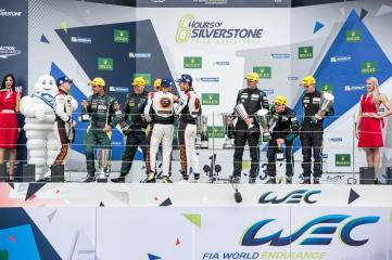 GTE AM Podium at the FIA WEC 6 Hours of Silverstone  - Silverstone Circuit - Towcester - United Kingdom