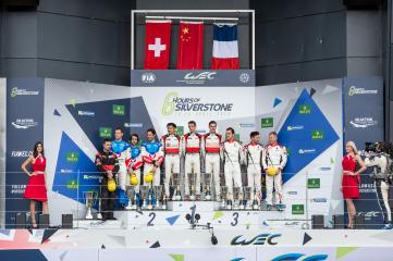 LMP2 Podium at the FIA WEC 6 Hours of Silverstone  - Silverstone Circuit - Towcester - United Kingdom