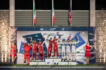 GTE PRO Podium at the WEC 6 Hours of Spa - Circuit de Spa-Francorchamps - Spa - Belgium