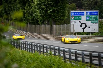 #64 CORVETTE RACING - GM (USA) Category : LM GTE Pro Cars : CHEVROLET CORVETTE C7.R Tyres : MICHELIN Drivers : Oliver GAVIN (GBR) Tommy MILNER (USA) Marcel FÄSSLER (CHE)