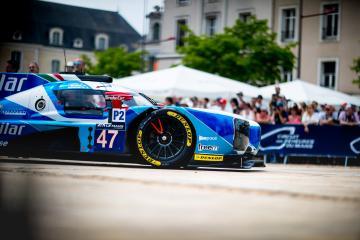 Scrutineering #47 CETILAR VILLORBA CORSE / ITA / DALLARA P217 - GIBSON - Le Mans 24 Hour - Place de la R