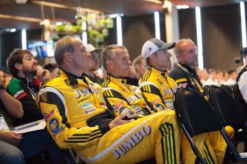 Driver Briefing #29 RACING TEAM NEDERLAND / NLD / DALLARA P217 - Gibson / Jan Lammers (NLD) / Frits Van Eerd (NLD) / Rubens Barrichello (BRA) - Le Mans 24 Hour - Circuit des 24H du Mans  - Le Mans - France
