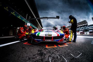 #71 AF CORSE / ITA / Ferrari 488 GTE - WEC 6 Hours of Mexico - Autodrome Hermanos Rodriguez - Mexico City - Mexique