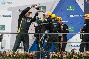 Podium at the 6 Hours of Mexico