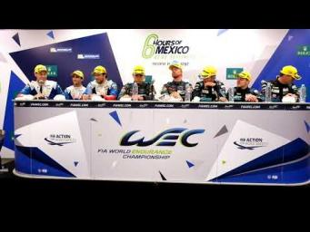 2017 6 Hours of Mexico - Post Race Conference Class Winners