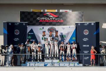 Overall Podium at the WEC 6 Hours of Circuit of the Americas - Circuit of the Americas - Austin - United States of America