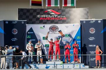 LM-GTE PRO Podium at the WEC 6 Hours of Circuit of the Americas - Circuit of the Americas - Austin - United States of America