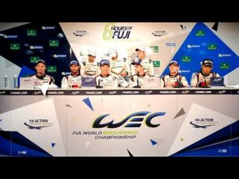 2017 WEC 6 Hours of Fuji - Overall Winners Press Conference -