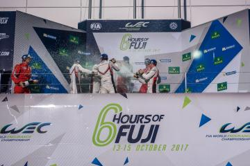 GTE-PRO Podium - WEC 6 Hours of Fuji - Fuji Speedway - Oyama - Japan