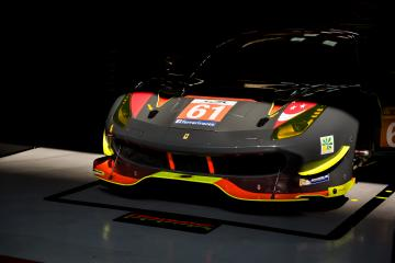 #61 CLEARWATER RACING / SGP / Ferrari 488 GTE - WEC 6 Hours of Shanghai - Shanghai International Circuit - Shanghai - China
