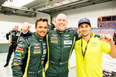 #98 ASTON MARTIN RACING / GBR / Aston Martin V8 Vantage / Paul Dalla Lana (CAN) / Pedro Lamy (PRT) / Mathias Lauda (AUT) - WEC 6 Hours of Bahrain - Bahrain International Circuit - Sakhir - Bahrain