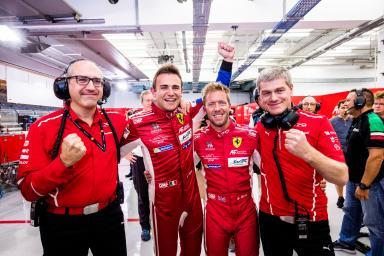 #71 AF CORSE / ITA / Ferrari 488 GTE / Davide Rigon (ITA) / Sam Bird (GBR) - WEC 6 Hours of Bahrain - Bahrain International Circuit - Sakhir - Bahrain