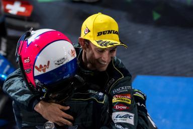 #98 ASTON MARTIN RACING / Pedro Lamy (PRT) / Mathias Lauda (AUT) -
