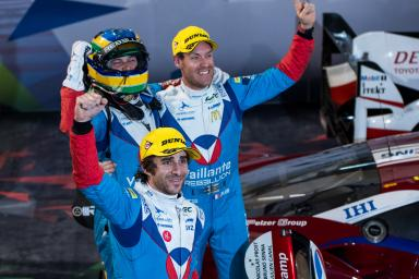 #31 VAILLANTE REBELLION / CHE / Julien Canal (FRA) / Nicolas Prost (FRA) / Bruno Senna (BRA) -