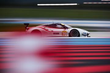#70 MR RACING / JPN / Ferrari 488 GTE -WEC Prologue at Circuit Paul Ricard - Circuit Paul Ricard - Le Castellet - France -