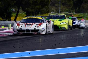 #70 MR RACING / JPN / Ferrari 488 GTE - ASTON MARTIN RACING / GBR / Aston Martin Vantage AMR - WEC Prologue at Circuit Paul Ricard - Circuit Paul Ricard - Le Castellet - France
