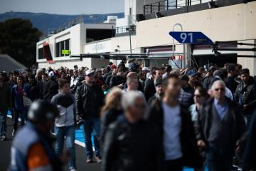 Pit walk WEC Prologue at Circuit Paul Ricard - Circuit Paul Ricard - Le Castellet - France -