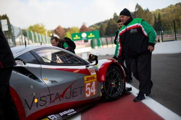 Setup - #54 SPIRIT OF RACE / CHE / Ferrari 488 GTE -Total 6 hours of Spa Francorchamps - Spa Francorchamps - Stavelot - Belgium -
