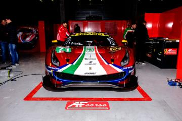 SETUP - #71 AF CORSE / ITA / Ferrari 488 GTE EVO - Total 6 hours of Spa Francorchamps - Spa Francorchamps - Stavelot - Belgium -