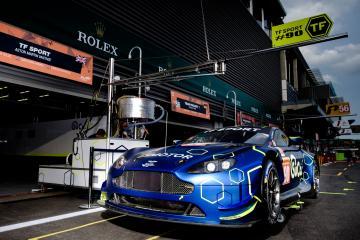 SETUP - #90 TF SPORT / GBR / Aston Martin V8 Vantage - Total 6 hours of Spa Francorchamps - Spa Francorchamps - Stavelot - Belgium -