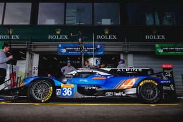 SETUP - #36 SIGNATECH ALPINE MATMUT / FRA / Alpine A470 - Gibson - Total 6 hours of Spa Francorchamps - Spa Francorchamps - Stavelot - Belgium -