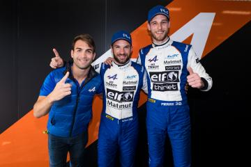 #36 SIGNATECH ALPINE MATMUT / FRA / Alpine A470 - Gibson / Nicolas Lapierre (FRA) / Pierre Thiriet (FRA) / Andre Negrao (BRA) - Total 6 hours of Spa Francorchamps - Spa Francorchamps - Stavelot - Belgium -