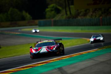 #51 AF CORSE / ITA / Ferrari 488 GTE EVO -Total 6 hours of Spa Francorchamps - Spa Francorchamps - Stavelot - Belgium -