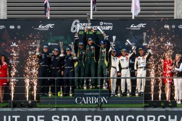 LM GTE-AM Podium - Total 6 hours of Spa Francorchamps - Spa Francorchamps - Stavelot - Belgium -