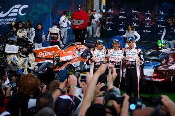 PODIUM - TOYOTA GAZOO RACING / JPN / Toyota TS050 - Hybrid - Hybrid  Total 6 hours of Spa Francorchamps - Spa Francorchamps - Stavelot - Belgium -