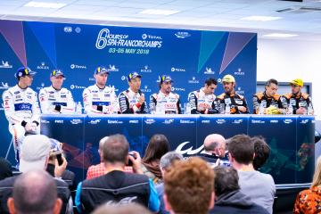Press Conference - Total 6 hours of Spa Francorchamps - Spa Francorchamps - Stavelot - Belgium -