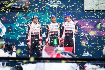 #8 TOYOTA GAZOO RACING / JPN / Toyota TS050 - Hybrid - Hybrid / Sebastien Buemi (CHE) / Fernando Alonso (ESP) / Kazuki Nakajima (JPN) -Total 6 hours of Spa Francorchamps - Spa Francorchamps - Stavelot - Belgium -