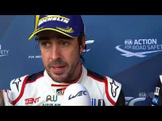 "2018 Total 6 Hours of Spa-Francorchamps - Fernando Alonso ""I'll be here all night long"""