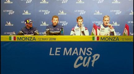 2018 Monza Round - Race Press Conference