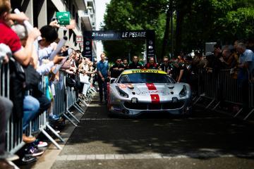 #54 Spirit of race / Ferrari 488GTE - Scrutineering - 24 hours of Le Mans  - Circuit de la Sarthe - Le Mans - France -