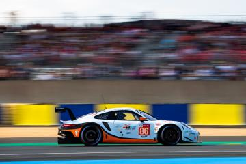 #86 GULF RACING / GBR / Porsche 911 RSR (991) - 24 hours of Le Mans  - Circuit de la Sarthe - Le Mans - France