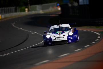 #91 PORSCHE GT TEAM / DEU / Porsche 911 RSR -  24 hours of Le Mans  - Circuit de la Sarthe - Le Mans - France