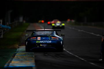 #90 TF SPORT / GBR / Aston Martin V8 Vantage - 24 hours of Le Mans  - Circuit de la Sarthe - Le Mans - France -